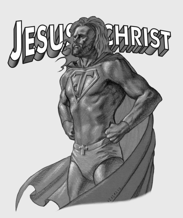 Super Jesus!